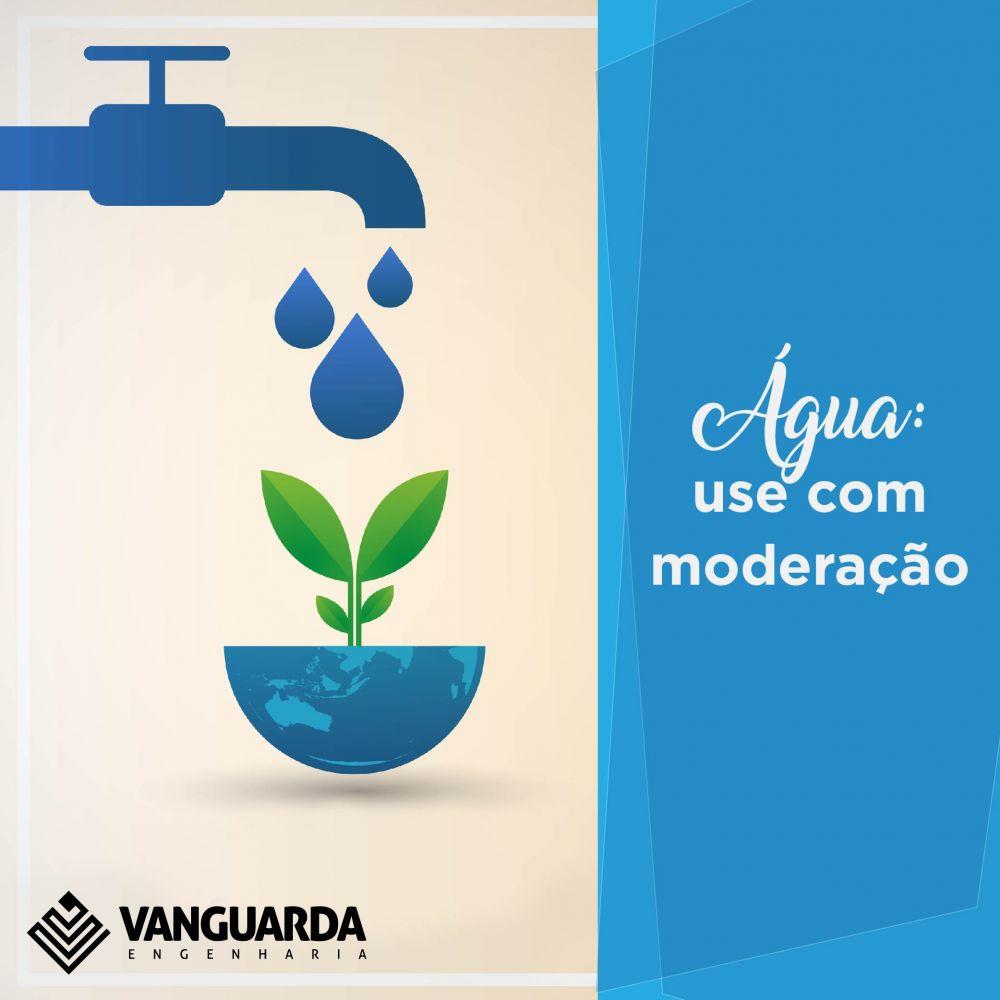 A economia de água em atividades do dia a dia.